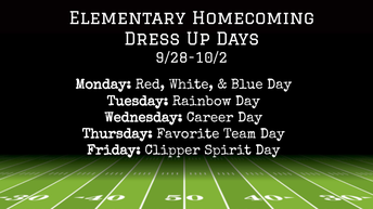 elementary dress up days