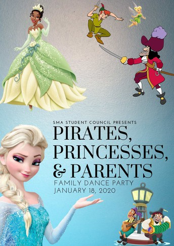 Pirates, Princesses, and Parents Family Dance Party