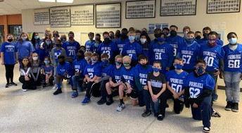 7th Grade Panthers Team Up Against Drugs