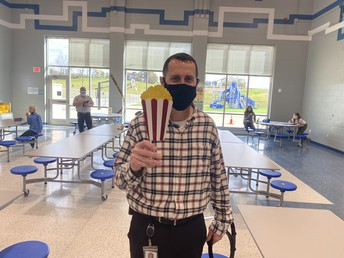 Principal Williams at Oak Hill Elementary