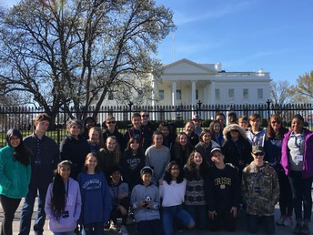 Eighth Graders Learn History and Civics in Washington, D.C.