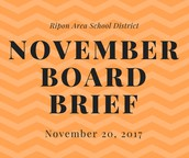 November Board Brief