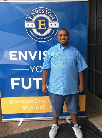 Clinton Hunter Participates in STEM Youth Leadership Forum