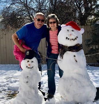 Snow People by Mrs Rhonda