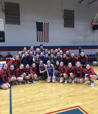 Congrats to the girls basketball team!