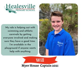 Will – Myer House Captain