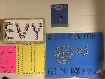 100th Day of School Family Projects