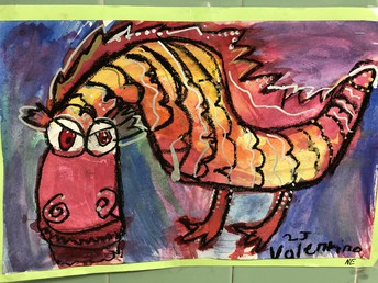 Elementary Student Artwork...