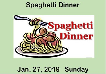 SMG Annual Spaghetti Dinner