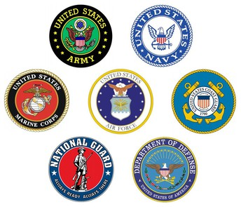 Active Service Members (*Currently Deployed)