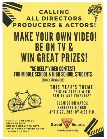 """4/22 DEADLINE: """"Be Reel!"""" Video Contest for middle and high school"""