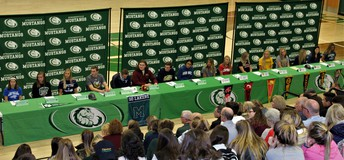 SHS Student-Athletes Make College Commitments on National Signing Day