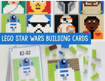 LEGO Star Wars Mosaic Building Cards