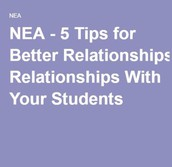 5 Tips for Better Relationships with Students