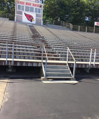 Cardinal Stadium Bleachers