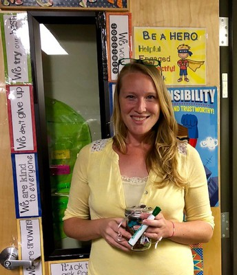 Teacher of the Month- Ms. Cooper