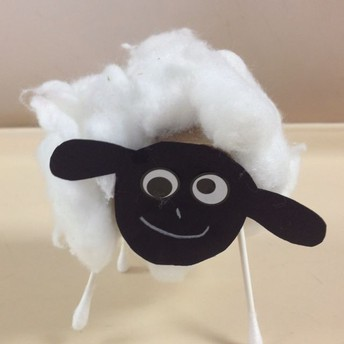 Fluffy Sheep Craft