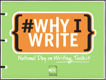 NATIONAL DAY ON WRITING IS TUESDAY