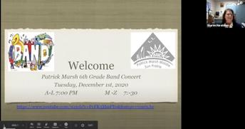 6th Band Virtual Concerts
