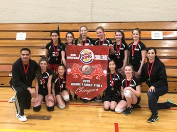 Grade 7 Girls Volleyball