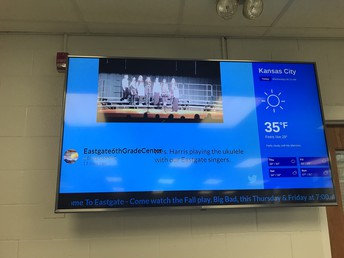Digital Signage Another Way to Communicate to Eastgate Stakeholders