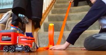 Virtual Academy Kindergarten Students Explore Ramp Building