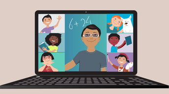 Connecting with teachers and classmates