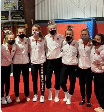 Scarlet Gymnasts are State Bound