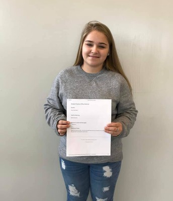 Kayla received a positive office referral for having a heart for others. She does the right thing and shows empathy for her classmates. She goes above and beyond in all she does.  #lmmsrocks