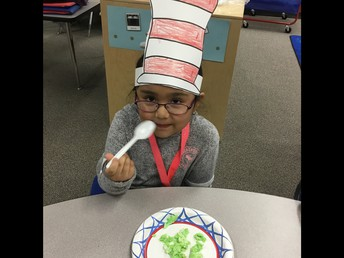 We made patterns in our hats!