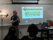 John Green from SWCID presents to students of the RDSPD
