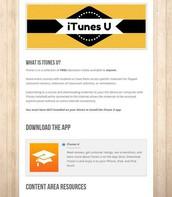 iTunes U Tech Tip