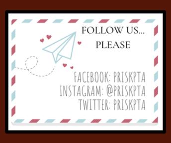 Follow the Prisk PTA on Social Media!