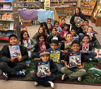 2nd Grade, Mrs. Robin's class with 92 points at 73%