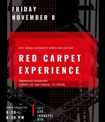 Red Carpet Dinner - Nov. 8th