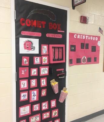 Middle School Door Winner!