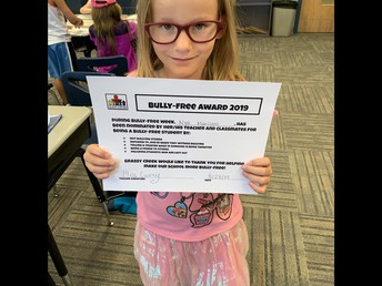 2nd Grade Bully Free Winner!