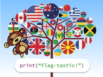 Flags of the World (Python Turtle