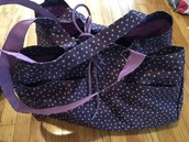 soft large utility tote WITH TAGS