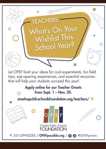 Please Consider Applying for a Teacher Grant