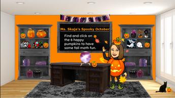 Ms. Skaja's Spooky October Update: