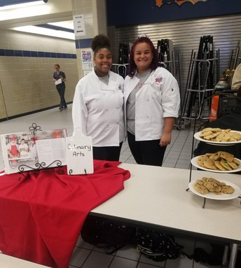 Culinary Students at Open House