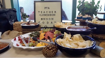 RMS STAFF THANKS OUR AMAZING PTA!