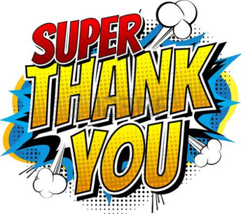 A Super Thank You