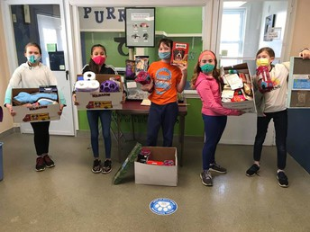 BMS Student Council Visits WARL