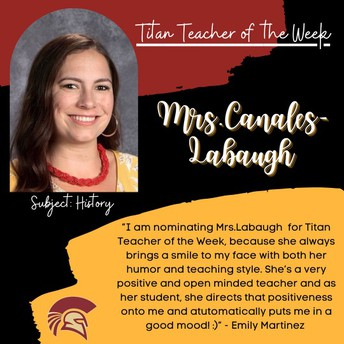 Mrs. Canales Labaugh | Social Science