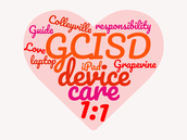 CMS wins the district Love Your Device contest!