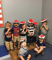 Jr Preschool II representing France in our celebration