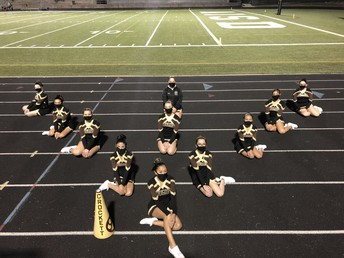 Support our Crockett Cheerleaders!