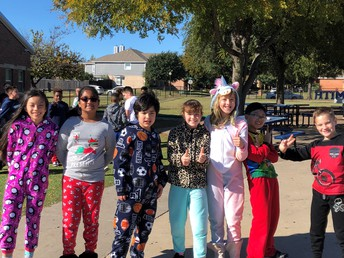 Recess and Pajamas, the perfect match!